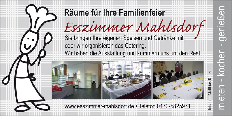 Esszimmer Mahlsdorf